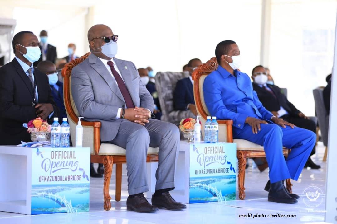 COOPÉRATION: LA ZAMBIE ET LE BOTSWANA DÉSORMAIS RELIÉS PAR LE PONT DE KAZUNGULA.