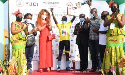 "cameroun : un rwandais triomphe au GRAND PRIX international CYCLISTE ""chantal biya"" 2020."
