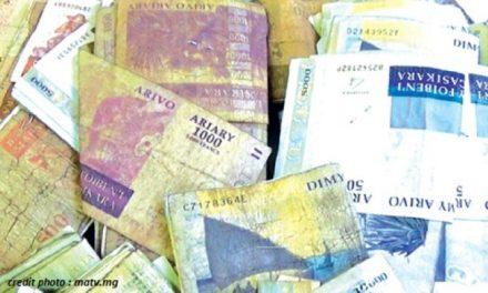 MADAGASCAR : ENCORE 06 MOIS POUR ÉCHANGER LES ANCIENS BILLETS DE BANQUE.