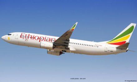 """TRANSPORT : """"ETHIOPIAN AIRLINES"""" EST LA MEILLEURE COMPAGNIE AÉRIENNE D'AFRIQUE 2020."""