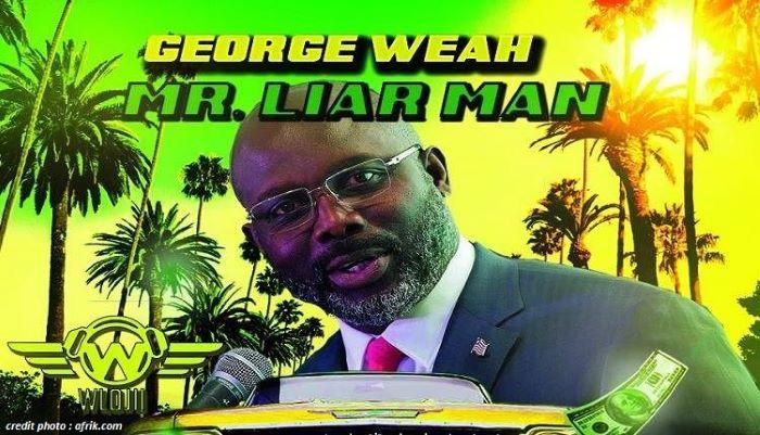 LIBÉRIA : LA 4ÈME CHANSON DU PRÉSIDENT GEORGE WEAH.