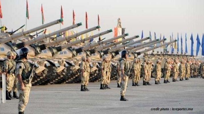 CLASSEMENT GFP : L'ÉGYPTE EST LA PREMIÈRE PUISSANCE MILITAIRE D'AFRIQUE.