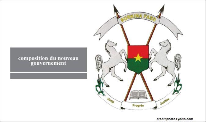 BURKINA FASO : UN NOUVEAU GOUVERNEMENT FORMÉ.