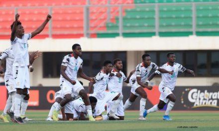 CAN JUNIORS 2021 : LE GHANA ET L'OUGANDA EN DEMI FINALE.