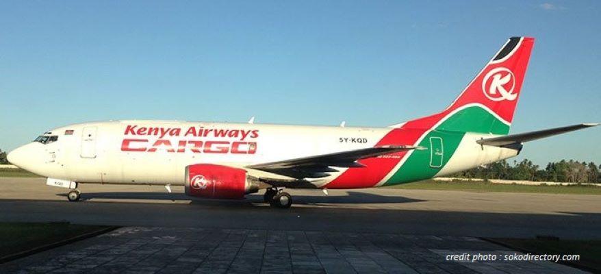 KENYA AIRWAYS : DEUX BOEING PASSAGERS TRANSFORMÉS EN CARGO.