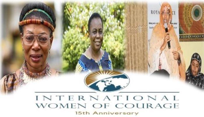 JOURNÉE DE LA FEMME : TROIS AFRICAINES HONORÉES AU PRIX INTERNATIONAL DU COURAGE FÉMININ 2021.