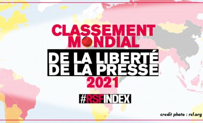 CLASSEMENT RSF 2021 : LA NAMIBIE LEADER AFRICAIN POUR LA LIBERTÉ DE LA PRESSE.
