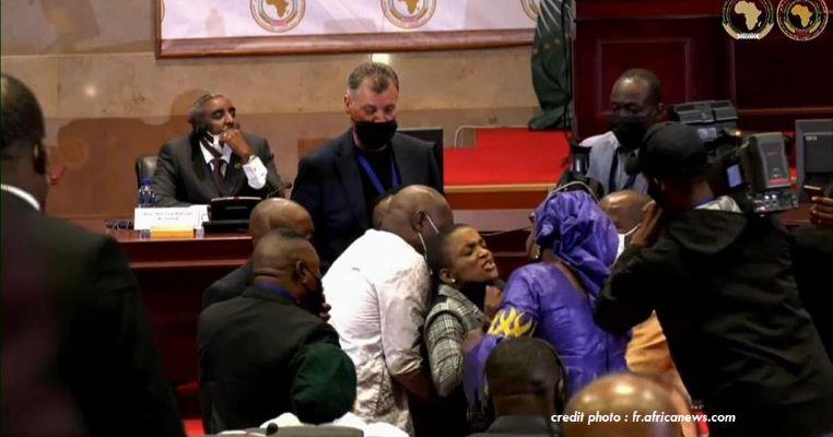 AFRIQUE DU SUD : VIOLENCES AU PARLEMENT PANAFRICAIN.