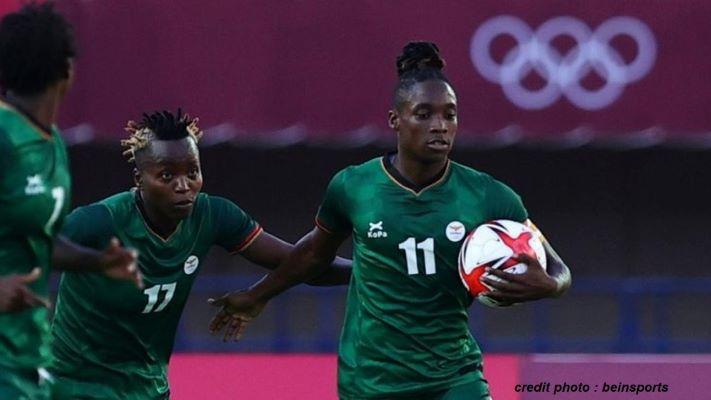 JO TOKYO 2020 – FOOTBALL FÉMININ : LA ZAMBIE MAINTIENT L'ESPOIR D'UNE QUALIFICATION…