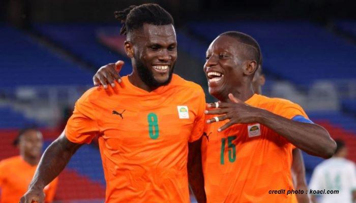JO TOKYO 2020 – FOOTBALL : BONNE ENTAME DE LA CÔTE D'IVOIRE.