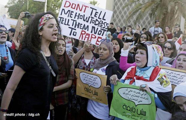 ÉGYPTE : LE HARCÈLEMENT SEXUEL EST DÉSORMAIS UN CRIME.