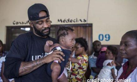 RD CONGO : FALLY IPUPA DÉSORMAIS AMBASSADEUR DE L'UNICEF.