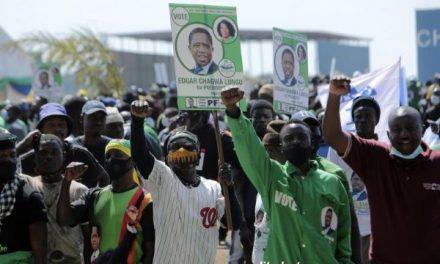 ZAMBIE : LE SCRUTIN PRÉSIDENTIEL AURA LIEU CE JEUDI..