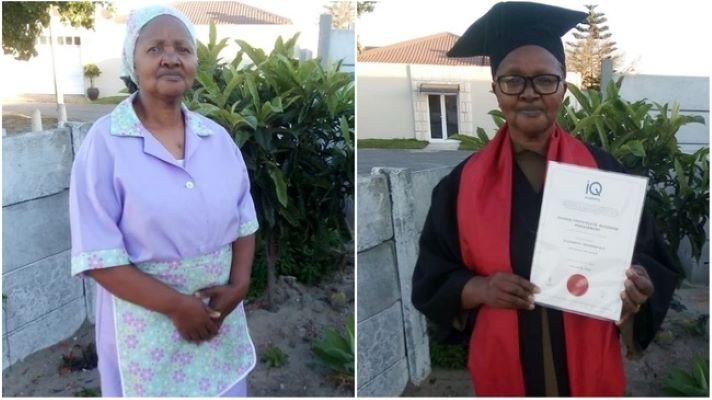 afrique du sud : elle obtient un diplôme en business management à 60 ans…