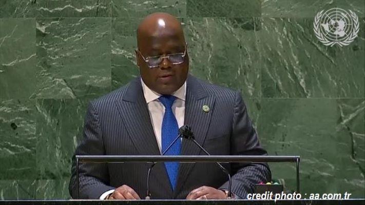 ONU : LES DOLÉANCES DE FÉLIX TSHISEKEDI POUR L'AFRIQUE.