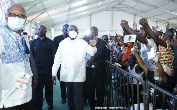 """CÔTE D'IVOIRE : LAURENT GBAGBO LANCE LE """"PARTI DES PEUPLES AFRICAINS""""…"""